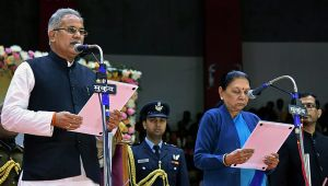 Bhupesh Baghel takes oath as CM of Chhattisgarh