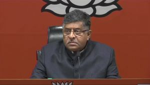 Rahul Gandhi's comments are being appreciated by Pakistan, says Ravi Shankar Prasad