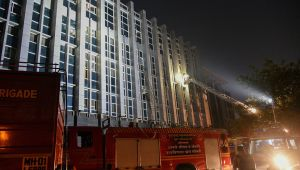 Fire breaks out at hospital in Mumbai ESIC Kamgar Hospital