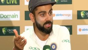 India Vs Australia 1st test : Virat Kohli Press Conference after Big Win