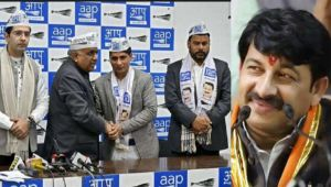 Two BJP Leaders joins Arvind Kejriwal's Aam Aadmi Party