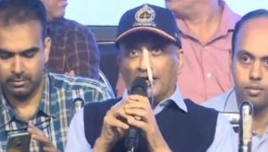 Manohar Parrikar asks How's the Josh as he attends First Public Event