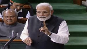 'Mahagathbandhan is mahamilavat': PM Modi's speech in Lok Sabha