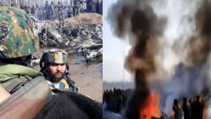 IAF Mi-17 chopper crashes in Jammu & Kashmir