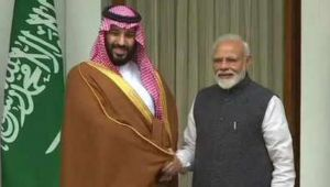 Saudi Prince Mohammed bin Salman says,with India we together Fight aganist Terrorism