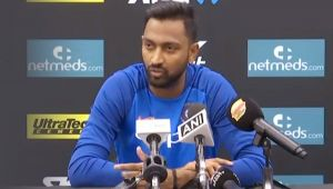 India Vs New Zealand : Krunal Pandya opens up on India's Loss in 1st T20I