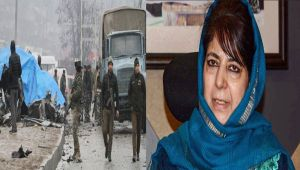'Border skirmishes and surgical strikes are leading to nothing': Mehbooba on Pulwama