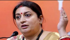 Smriti Irani says, Will retire the day PM Modi leaves Politics