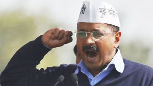 Yet again, AAP hits out at BJP on statehood