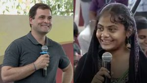 Rahul Gandhi to Students , 'Call me Rahul instead of Sir'