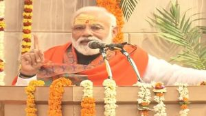 PM Modi says such a thing in Varanasi, people could not stop their laugh