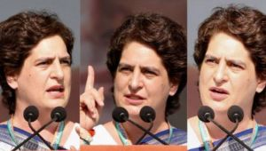 Priyanka Gandhi Vadra addresses Rally for the first time in Ahmedabad