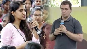 Rahul Gandhi's reply to Chennai Girl's query on Robert Vadra's corruption charges