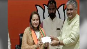Jaya Prada joins BJP, says Honoured to work under PM Modi's Leadership