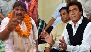 BSP leader threatens to beat Raj Babbar, his supporters with shoes