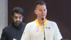 Former Australian Cricketer Brett Lee says, My Dream is to find India's Fastest Bowler