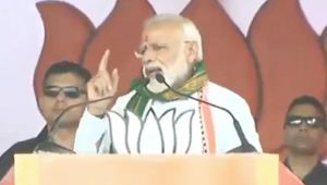 PM Modi says, Congress-Left will stoop to any level to oust me