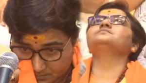 Sadhvi Pragya Thakur breaks down alleging 'Torture' in Jail, Slams Congress