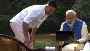 Enjoy memes, even if I am being spoken against: PM Modi to Akshay Kumar
