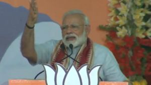 Congress remembers the poor only before elections, says Modi in Odisha