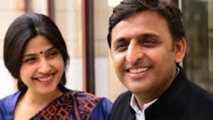 In Presence of Akhilesh Yadav, Dimple Yadav files her Nomination