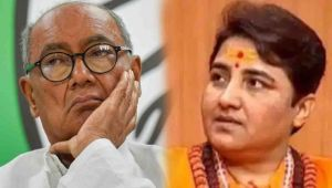 Sadvi Pragya after joining BJP she Contest election against Digvijay Singh