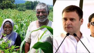 Rahul Gandhi release Congress Manifesto , big Promises for Farmers Budget