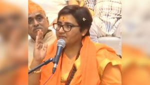Sadhvi Pragya on Hemant Karkare, He treated me badly so dies of his own Karma