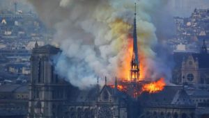 A fire gutted parts of Notre Dame Cathedral and altered the Paris skyline