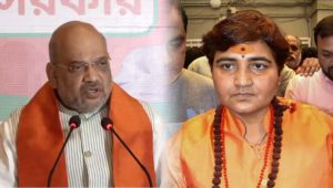 Amit Shah defends Sadhvi Pragya Thakur, Nominating her is a right decision