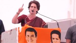 When Priyanka Gandhi praised BJP's strong campaign, know why ?