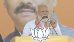 PM Modi attacks Congress over corruption during his speech in Koderma