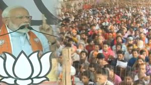 Abki baar 300 paar: PM Modi calls for second term at MP rally