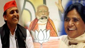 Aware of defeat, SP-BSP at each other's throats: PM Modi in Mirzapur