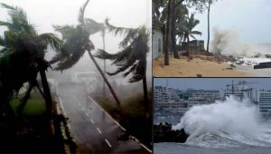 Sound and Fury: Watch this Frightening Video of Cyclone Fani Hitting Odisha
