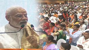 PM Modi tells his vision for New India during his speech in Varanasi