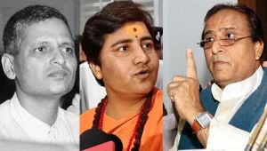 Madrasas don't breed people like Godse, Pragya Thakur: Azam Khan
