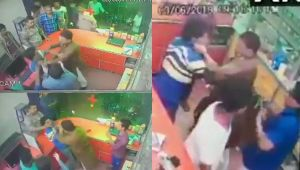 BJP leader Renu Devi's brother assaults chemist for not standing up | Viral Video