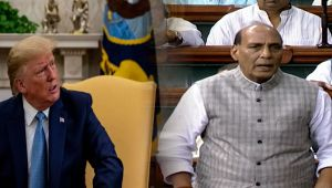 No question of accepting mediation on Kashmir says Rajnath Singh in Parliament