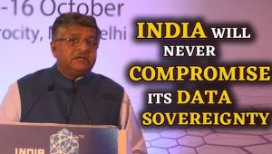 RS Prasad: India will never compromise its Data Sovereignty