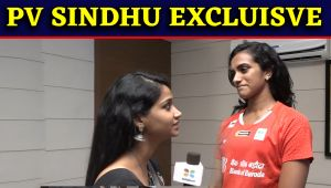 PV Sindhu Exclusive Interview: Sindhu aims for great performance in Tokyo Olympics