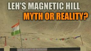 Leh's Magnetic hill in Ladakh : Myth or reality?