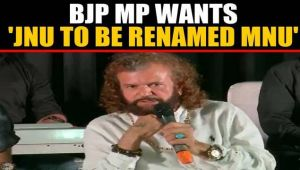 BJP MP Hans Raj Hans wants JNU to be renamed after PM Modi, sparks row