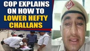 Cop explains how vehicle owner can lower hefty traffic challans, video goes viral