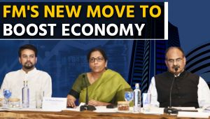 Nirmala Sitharaman's Corporate tax relief to help stabilise economy