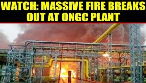 Fire breaks out at ONGC plant in Navi Mumbai, 5 Killed, 11 injured