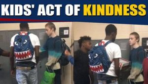 High school students gift new clothes to bullied classmate, video goes viral