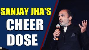 Sanjay Jha sings a song for glum Congress workers
