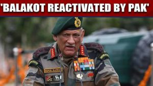 General Bipin Rawat says Balakot has been reactivated by Pak