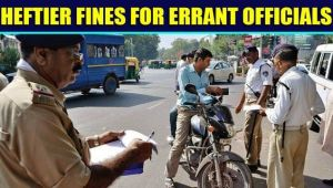 Govt officials to pay double if found violating traffic rules